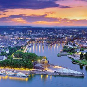 German Corner, Koblenz 1000 Piece Jigsaw Puzzle