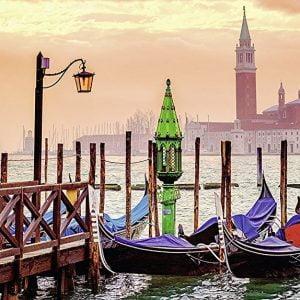 Gondolas in Venice 1000 Piece Puzzle - Ravensburger