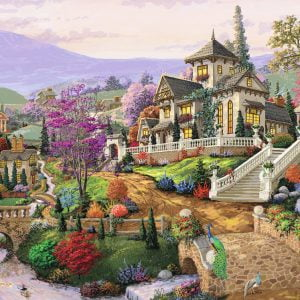 Hillside Retreat 500 Piece Puzzle - Ravensburger