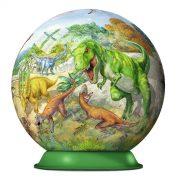 Kingdom of the Dinosaur 72 Piece 3D PuzzleBall - Ravensburger
