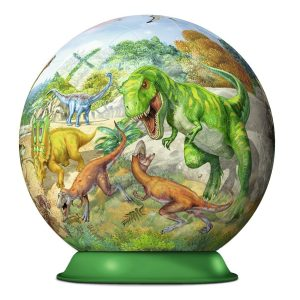 Kingdom of the Dinosaur 72 Piece 3D PuzzleBall - Ravensburger