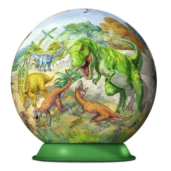 Kingdom of the Dinosaur 72 Piece 3D PuzzleBall – Ravensburger