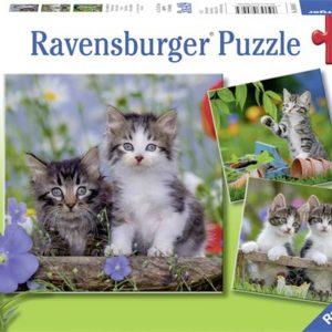 Kittens 3 x 49 Piece Ravensburger Puzzle