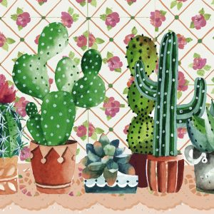 Lovely Times - Cactus Family 1000 Piece Heye Puzzle