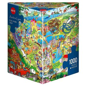 Lyon - Fun Park Trip 1000 Piece Heye Puzzle