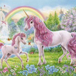 Magical Unicorns Puzzle 100 XXL Piece Ravensburger Puzzle