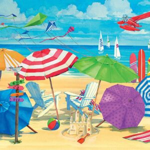 Meet me at the Beach 300 Large Format Puzzle - Ravensburger