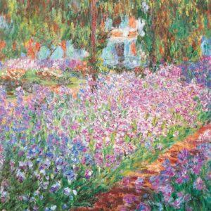 Monet, Monet's Garden 1000 Piece Puzzle - Eurographics