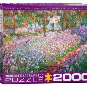 Monet - Monet's Garden 2000 Piece Puzzle - Eurographics