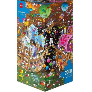 Mordillo - The Kiss 2000 Piece Heye Puzzle
