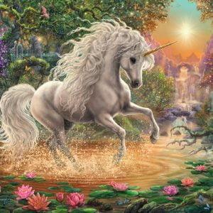 Mystical Unicorn 1000 Piece Puzzle - Ravensburger