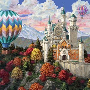Neuschwanstein Dreams 1000 Piece Puzzle - Ravensburger