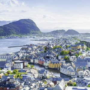 Norway, Alesund 1000 Piece Ravensburger Jigsaw Puzzle
