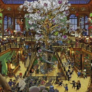 Oesterle - Library 1500 Piece Heye Puzzle