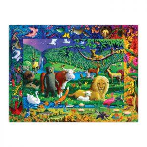 Peaceable Kingdom 500 Piece Puzzle - eeBoo