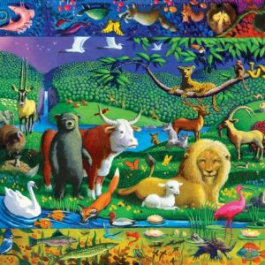 Peaceable Kingdom 500 Piece Puzzle - eeBoo