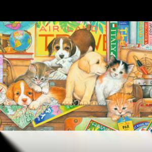 Pets on Tour 500 Large Piece Format Puzzle - Ravensburger