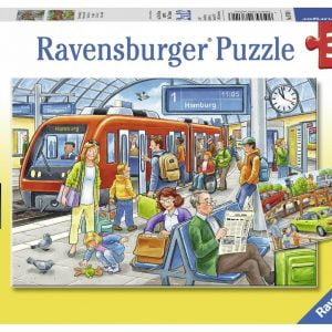 Please Get In 2 x 12 Piece Ravensburger Puzzle