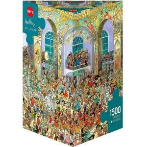 Prades, Ballroom 1500 Piece Heye Puzzle