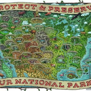 Protect and Preserve 1000 Piece Puzzle - Ravensburger