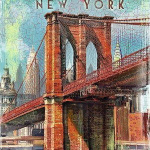 Retro New York 1000 Piece Jigsaw Puzzle - Ravensburger