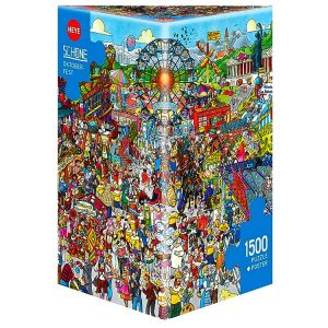 Schone - Oktoberfest 1500 Piece Puzzle
