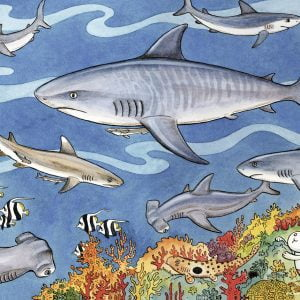 Sea of Sharks 60 Piece Ravensburger Puzzle