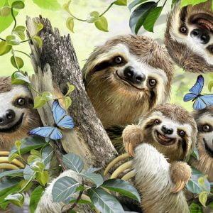Sloth Selfie 500 Piece Puzzle - Ravensburger