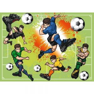 Soccer Fever 100 Piece Ravensburger Puzzle