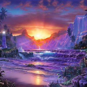 Sunrise in Paradise 1500 Piece Puzzle - Ravensburger