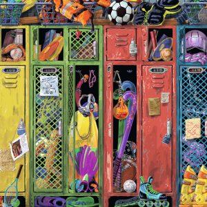 The Locker Room 1000 Piece Puzzle - Ravensburger