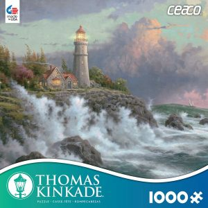 Thomas Kinkade Conquering the Storms 1000 Piece Puzzle