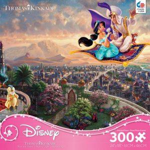 Thomas Kinkade Disney - Aladdin - 300 Large Piece Puzzle