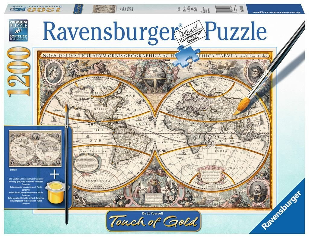 Touch of gold antique world 1200 piece puzzle gumiabroncs Choice Image