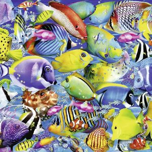 Tropical Traffic 500 Piece Puzzle - Ravensburger