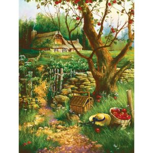 Under the Apple Tree 500 Piece Puzzle