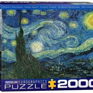 Van Gogh - Starry Night 2000 Piece Puzzle - Eurographics