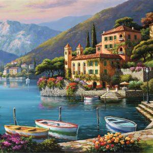 Villa Bella Vista 500 Piece Puzzle - Ravensburger