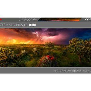 Von Humboldt - Stormy Horizon 1000 Piece Panoramic Heye Puzzle