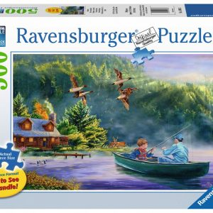 Weekend Escape 500 Large Piece Format Puzzle - Ravensburger