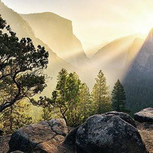 Yosemite Park 1000 Piece Panoramic Puzzle - Ravensburger