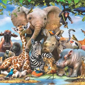 Africa Smile 1000 Piece Anatolian Jigsaw Puzzle