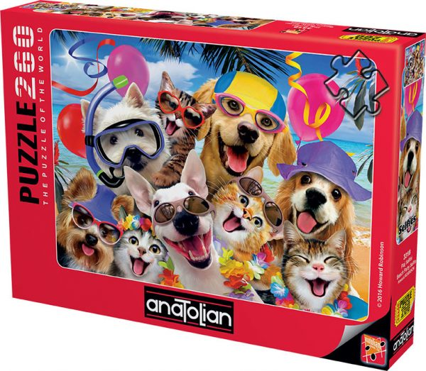 Beach Party Selfie 260 Piece Anatolian Puzzle
