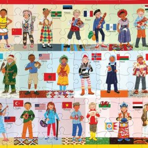 Children of the World 100 Piece Jigsaw Puzzle - eeBoo