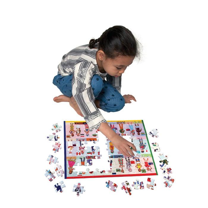 CHILDREN OF THE WORLD 100 PIECE JIGSAW PUZZLE