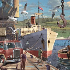Down at the Docks 1000 Piece Jigsaw Puzzle