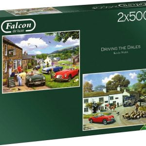 Driving the Dales 2 x 500 Piece Puzzle