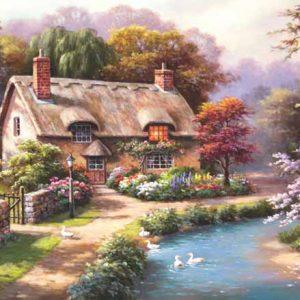 Duck Path Cottage 1000 Piece Jigsaw Puzzle