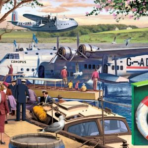Empire flying Boats 1000 Piece Jigsaw Puzzle by Jumbo