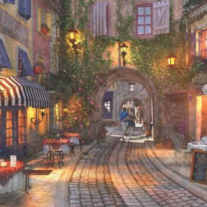 French Walkway 500 Piece Jigsaw Puzzle - Anatolian